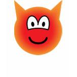 Devil emoticon   womens_apparel_tshirt