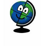 Globe emoticon   womens_apparel_tshirt