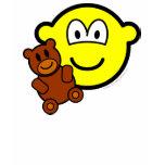 Teddy bear toy buddy icon   womens_apparel_tshirt