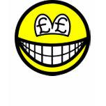 Pound eyed smile   womens_apparel_tshirt