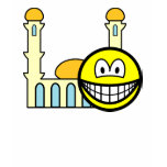 Mosque going smile   womens_apparel_tshirt