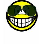 Aviators smile Sunglasses   womens_apparel_tshirt