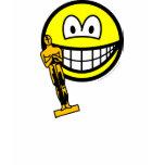 Oscar winning smile   womens_apparel_tshirt