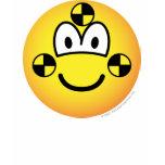 Crash test dummy emoticon   womens_apparel_tshirt