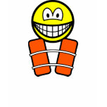 Life jacket smile   womens_apparel_tshirt