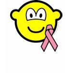 Breast cancer awareness buddy icon Pink ribbon  womens_apparel_tshirt