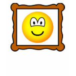 Picture frame emoticon   womens_apparel_tshirt
