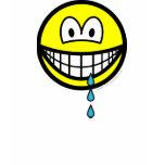 Drool smile   womens_apparel_tshirt