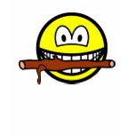 Fetching stick smile Dog  womens_apparel_tshirt