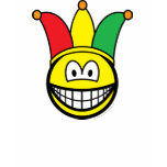 Joker/Carnival smile   womens_apparel_tshirt