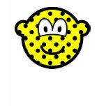 Polka dotted buddy icon   womens_apparel_tshirt