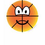 Basketball emoticon   womens_apparel_tshirt