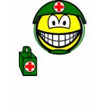 M*A*S*H smile medic  womens_apparel_tshirt