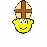 Pope buddy icon   womens_apparel_tshirt
