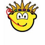 Frog king buddy icon   womens_apparel_tshirt