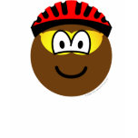 Biker emoticon muddy  womens_apparel_tshirt