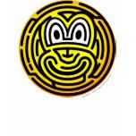 Finger print emoticon   womens_apparel_tshirt
