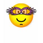 Elton John emoticon   womens_apparel_tshirt
