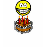 Blowing out candles smile   womens_apparel_tshirt
