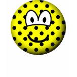 Polka dotted emoticon   womens_apparel_tshirt