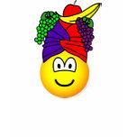 Fruit hat emoticon   womens_apparel_tshirt