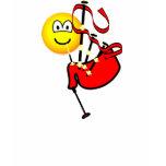 Bagpipes emoticon   womens_apparel_tshirt