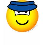 Sun visor emoticon   womens_apparel_tshirt