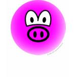 Pig emoticon   womens_apparel_tshirt