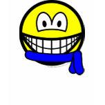 Blue belt smile   womens_apparel_tshirt