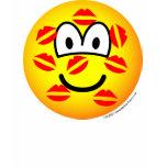 Kisses emoticon   womens_apparel_tshirt