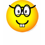 Nerd emoticon   womens_apparel_tshirt