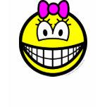 Bow smile   womens_apparel_tshirt