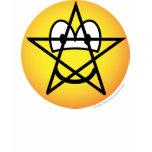 Pentacle emoticon   womens_apparel_tshirt