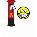 Letter posting smile   womens_apparel_tshirt