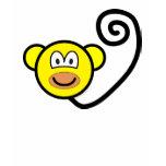 Monkey buddy icon   womens_apparel_tshirt