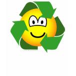 Recycle emoticon version II  womens_apparel_tshirt