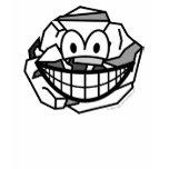 Ball of paper smile   womens_apparel_tshirt