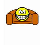 Couch potato smile   womens_apparel_tshirt