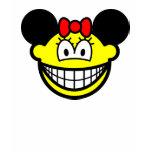 Minnie Mouse smile   womens_apparel_tshirt