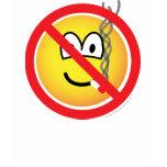 No smoking emoticon   womens_apparel_tshirt