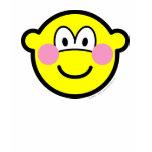 Blushing buddy icon Embarrassed  womens_apparel_tshirt