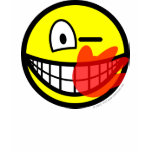 Slap smile slapped  womens_apparel_tshirt
