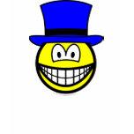 Blue hat smile Six Thinking Hats - Control of Thinking  womens_apparel_tshirt