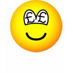 Pound eyed emoticon   womens_apparel_tshirt