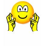 Fingers crossed emoticon   womens_apparel_tshirt