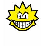 Simpson smile Lisa  womens_apparel_tshirt