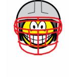 Football player smile   womens_apparel_tshirt