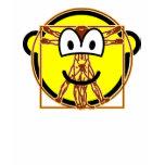 Vitruvian Man buddy icon Da vinci  womens_apparel_tshirt
