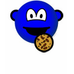 Cookie monster emoticon   womens_apparel_tshirt