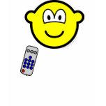 Tv remote buddy icon   womens_apparel_tshirt